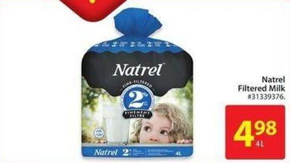 Natrel Filtered Milk