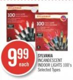 Sylvania Incandescent Indoor Lights 100's
