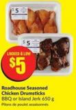 Roadhouse Seasoned Chicken Drumsticks Bbq or Island Jerk 650 g
