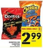 Doritos Or Cheetos