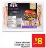 Olymel or Piller's Sliced Deli Meats