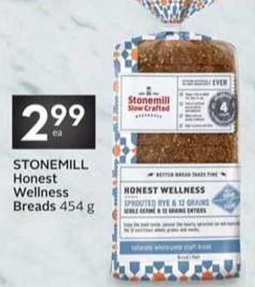 Stonemill Honest Wellness Breads