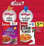 Kellogg's Cereal Selected 210-450 g