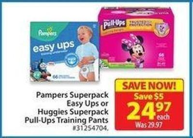 Pampers Superpack Easy Ups Training Pants