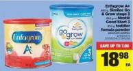 Enfagrow A+ 680 G - Similac Go & Grow Stage 3 850 G Or Nestlé Good Start 3 850 G Toddler Fomula Powder