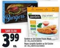 Gardein Or Sol Cuisine Frozen Meals 205 - 390 G