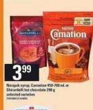 Nesquik Syrup - Carnation - 450-700 mL or Ghirardelli Hot Chocolate - 298 g