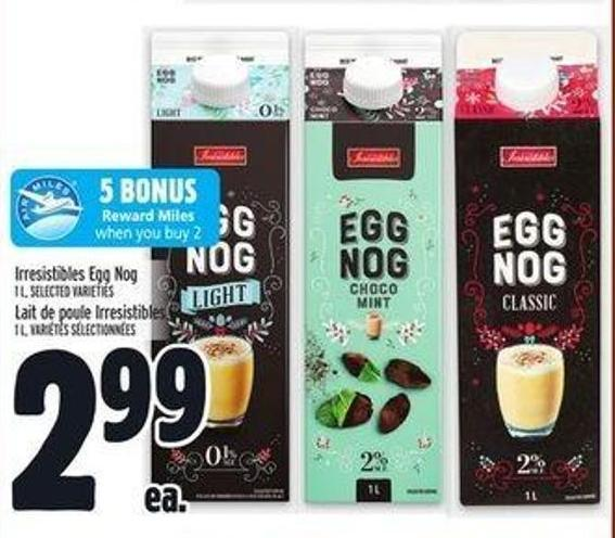 Irresistibles Egg Nog
