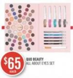 Quo Beauty  All About Eyes Set