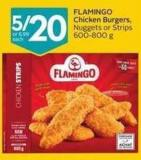 Flamingo Chicken Burgers