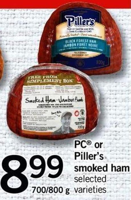 PC Or Piller's Smoked Ham - 700/800 G