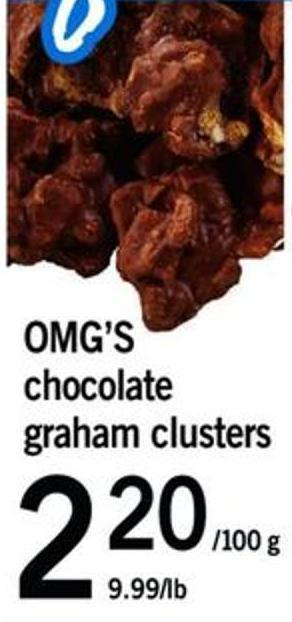 Omg's Chocolate Graham Clusters