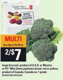 Large Broccoli Or PC Mini Gems Potatoes Mixed - Red Or Yellow
