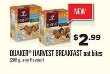 Quaker Harvest Breakfast Oat Bites - 200 g