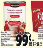 Selection Tomato Sauce 680 ml