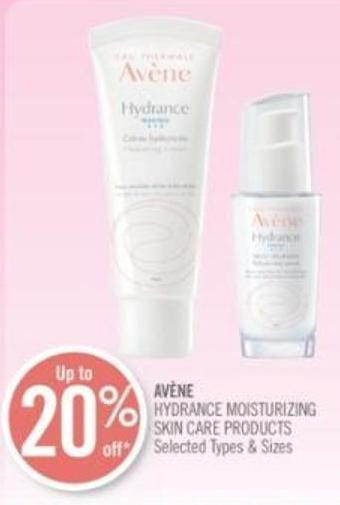 Avène Hydrance Moisturizing Skin Care Products