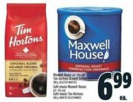 Maxwell House 631 - 925 g Tim Hortons Ground Coffee 300 g