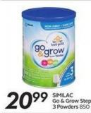 Similac Go & Grow Step 3 Powders