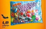 Lollipops 800g