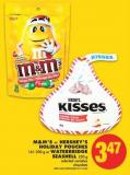 M&m's or Hershey's Holiday Pouches - 161-200 g or Waterbridge Seashell - 250 g