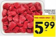 Stewing Beef Family Pack