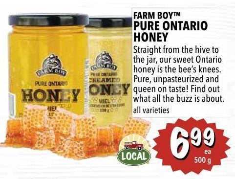Farm Boy Pure Ontario Honey 500 g