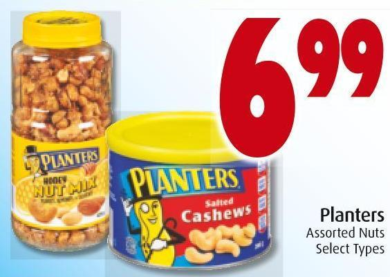 Planters Assorted Nuts