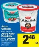 Astro Original - 650/750 G Or Astro Kefir Probiotic - 500 G Yogurt