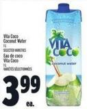 Vita Coco Coconut Water - 1 L