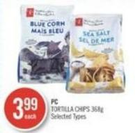 PC Tortilla Chips 368g