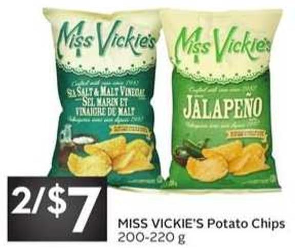 Miss Vickie's Potato Chips - 200/220 g