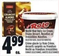 Nestlé Real Dairy Ice Cream - Frozen Dessert - Novelties Or Irresistibles Novelties