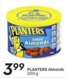 Planters Almonds 200 g