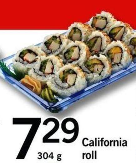 California Roll - 304 G