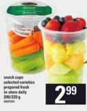 Snack Cups - 200/220 g