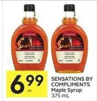 Sensations By Compliments Maple Syrup