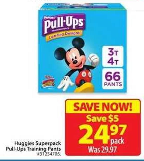 Huggies Superpack Pull-Ups