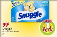 Snuggle Fabric Softener Sheets 20
