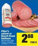 Piller's Salami Or Beach Road Kielbasa