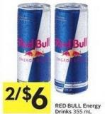 Red Bull Energy Drinks 355 mL