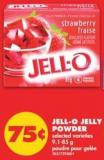 Jell-o Jelly Powder - 9.1-85 G
