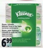 Kleenex - Cottonelle Bathroom Tissue Or Viva Towels