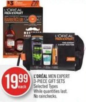 L'or�al Men Expert 3-piece Gift Sets