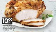 Roasted Garlic & Pepper Turkey Breast