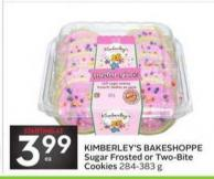 Kimberley's Bakeshoppe Sugar Frosted or Two-bite Cookies
