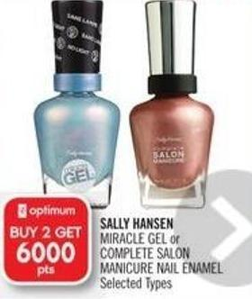 Sally Hansen  Miracle Gel or Complete Salon Manicure Nail Enamel