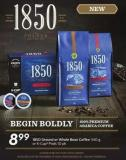 1850 Ground or Whole Bean Coffee