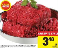 Extra Lean Ground Beef Or Halal Lean Ground Beef