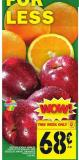 Red Delicious Apples Or Seedless Navel Oranges
