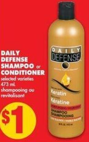 Daily Defense Shampoo Or Conditioner - 473 Ml